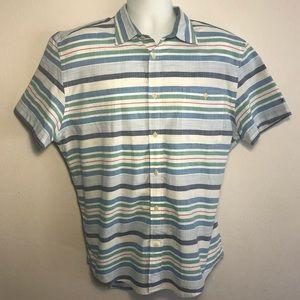 Tommy Hilfiger Men's XL collared button down shirt